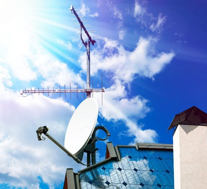 What are the steps to install an outdoor TV Antenna?